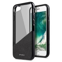 StilGut melkco Backcover für Apple iPhone 7 schwarz