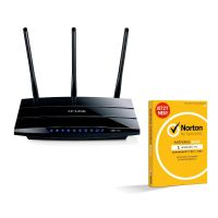 TP-LINK Archer C7 WLAN-ac Gigabit Router + Norton Antivirus Basic, 1 PC 1Y
