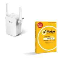 TP-LINK RE305 AC1200 Dualband WLAN-ac Repeater + Norton Antivirus Basic, 1 PC 1Y