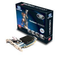 Sapphire Radeon HD 5450 1GB DDR3 Grafikkarte DVI/VGA/HDMI Low Profile passiv