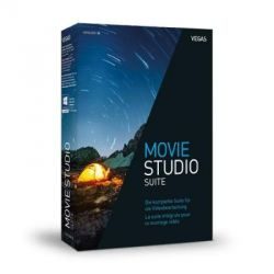 MAGIX Vegas Movie Studio Platinum Suite 14, inkl. VEGAS® DVD Architect uvm. Box Bild0