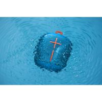 Ultimate Ears Wonderboom Bluetooth Speaker, blau, wasserdicht, mit Akku