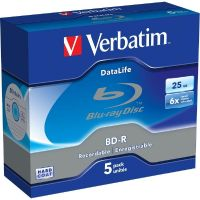 Verbatim 6x BD-R DL Blu-ray Disc 25GB 5er Jewel Case