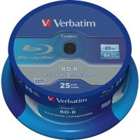 Verbatim 6x BD-R SL DL Blu-ray Disc 25GB 25er Spindel