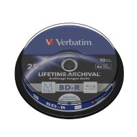 Verbatim MDISC BD-R Blu-ray Disc 25GB 10er Spindel Printable