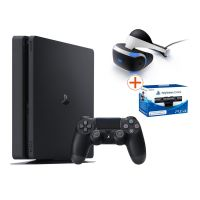 Sony PlayStation 4 Slim 500GB Konsole + Virtual Reality + VR Kamera