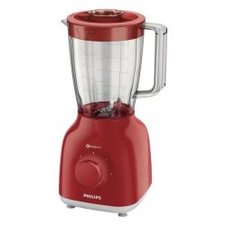 Philips HR2105/50 Daily Collection Standmixer rot Bild0