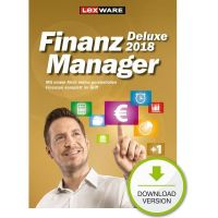 Lexware FinanzManager Deluxe 2018 (Version 25.00) ESD