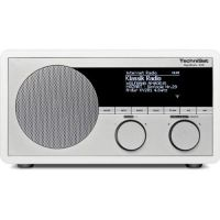 TechniSat DigitRadio 400 Internet WLAN/DAB+/DAB/UKW/Bluetooth weiß