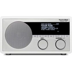 TechniSat DigitRadio 400 Internet WLAN/DAB+/DAB/UKW/Bluetooth weiß Bild0