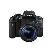 Canon EOS 750D Kit 18-55mm IS STM + Tasche + SD Karte + Reinigungstuch