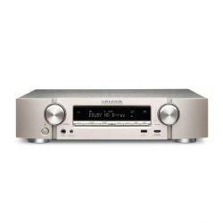 Marantz NR1508 5.2 AV Receiver 4K AirPlay WLAN Bluetooth Spotify Heos - silber Bild0