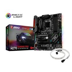MSI H270 Gaming Pro Carbon ATX Mainboard Sockel 1151 + Mystic Light Strip Promo Bild0