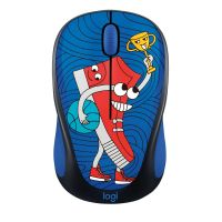 Logitech M238 Kabellose Mobile Maus Doodle Collection SNEAKER HEAD 910-005050