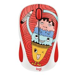 Logitech M238 Kabellose Mobile Maus Doodle Collection TRIPLE SCOOP 910-005051 Bild0