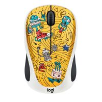 Logitech M238 Kabellose Mobile Maus Doodle Collection GO-GO GOLD 910-005056