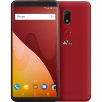 Wiko View Prime Dual-SIM cherry red Android 7.1 Smartphone