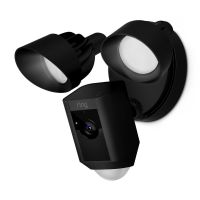 RING Floodlight Cam - Schwarz