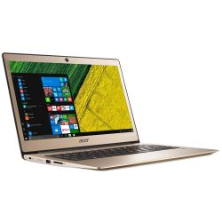 Acer Swift 1 SF113-31 gold Notebook Quad Core N4200 SSD matt Full HD Windows 10 Bild0
