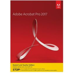 Adobe Acrobat Pro 2017 Student & Teacher Edition Mac EN Minibox Bild0
