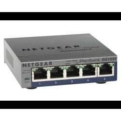 Netgear ProSafe Plus GS105PE 5-Port Switch (2x PoE) Bild0