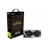 Palit GeForce GTX 1080 OC Super JetStream 8GB GDDR5X Grafikkarte DVI/HDMI/3xDP