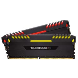 32GB (2x16GB) Corsair Vengeance RGB DDR4-3200 RAM CL16 (16-18-18-36) Kit Bild0