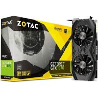 Zotac GeForce GTX 1070 AMP! Core Edition 8GB GDDR5 Grafikkarte DVI/HDMI/3xDP