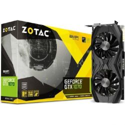 Zotac GeForce GTX 1070 AMP! Core Edition 8GB GDDR5 Grafikkarte DVI/HDMI/3xDP  Bild0
