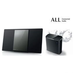 Panasonic SC-ASC02EG Multiroom CD Starter Kit aus SC-HC1040EGK + SC-ALL05EG-K Bild0