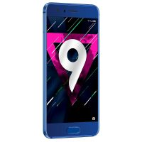 Honor 9 sapphire blue Dual-SIM Android 7.0 Smartphone mit Dual-Kamera