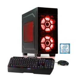 Hyrican Striker-X Gaming PC red 5766 i7-8700K 16GB 2TB 240B SSD GTX 1080Ti W10 Bild0