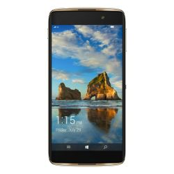 Alcatel Idol 4 Pro 6077X schwarz gold Windows 10 Smartphone Bild0