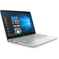 HP Pavilion 14-bf003ng Notebook silber i3-7100U SSD Full HD Windows 10 Bild0