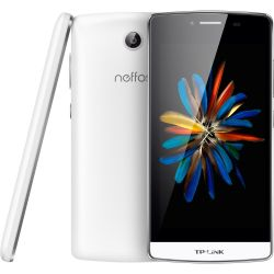 TP-LINK Neffos C5 LTE Dual-SIM pearl white Android 5.1 Smartphone Bild0