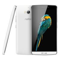 TP-LINK Neffos C5 Max LTE Dual-SIM pearl white Android 5.1 Smartphone