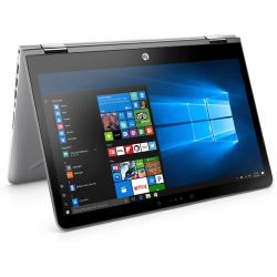 HP Pavilion x360 14-ba013ng 2in1 Notebook silber i5-7200U SSD Full HD Windows 10 Bild0