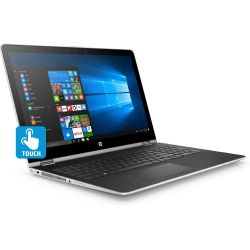 HP Pavilion x360 15-br009ng 2in1 Notebook silber i5-7200U SSD Full HD Windows 10 Bild0