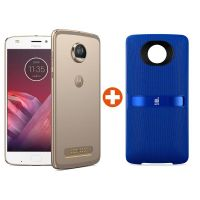 Moto Z² Play 64GB fine gold Android™ 7.1 Smartphone inkl. JBL Soundboost 2