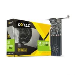 Zotac GeForce GT 1030 2GB GDDR5 Grafikkarte Low Profile DVI/HDMI Bild0