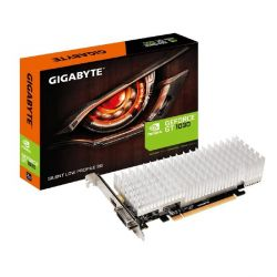 Gigabyte GeForce GT 1030 2GB GDDR5 Grafikkarte DVI/HDMI passiv Low Profile  Bild0