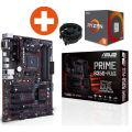 ASUS PRIME B350-PLUS ATX Mainboard Sockel AM4 + AMD Ryzen R5 1600 CPU