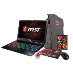 MSI GS73VR 7RF-210 Notebook i7-7700HQ SSD FHD GTX1060 Windows 10 Bundle Bild0