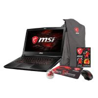 MSI GS43VR 7RE-062 Notebook i7-7700HQ SSD FHD GTX1060M Windows 10 Bundle