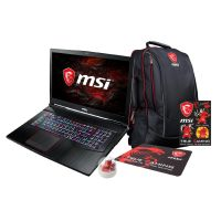 MSI GE73 7RD-004  Notebook i7-7700HQ SSD FHD GTX 1050Ti Windows 10 Bundle