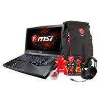 MSI GT75VR 7RF-012 Notebook i7-7820HK SSD GTX1080 FHD Windows 10 Bundle