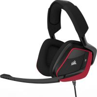 Corsair Gaming VOID PRO RED Surround Hybrid Stereo Dolby 7.1 Gaming Headset