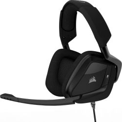 Corsair Gaming VOID PRO BLACK Surround Hybrid Stereo Dolby 7.1 Gaming Headset Bild0