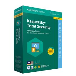 Kaspersky Total Security Upgrade 3 Geräte (Code in a Box) MiniBox Bild0