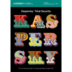 Kaspersky Total Security 5 Geräte (Code in a Box) MiniBox - 20 Jahre Edition Bild0